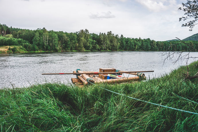 Vlotvakantie in Zweden