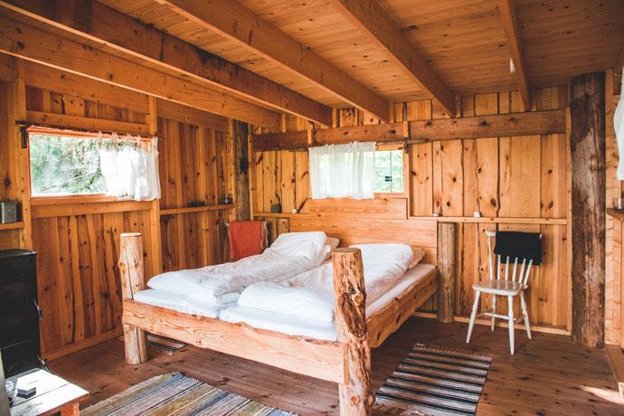 Boomhut in Värmland, Zweden