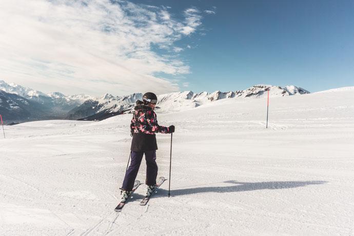Skiën in Crans Montana, Zwitserland