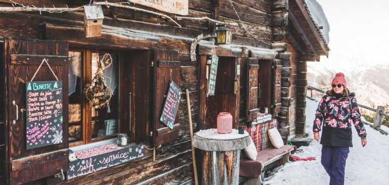 Leuke restaurants in Verbier, Zwitserland