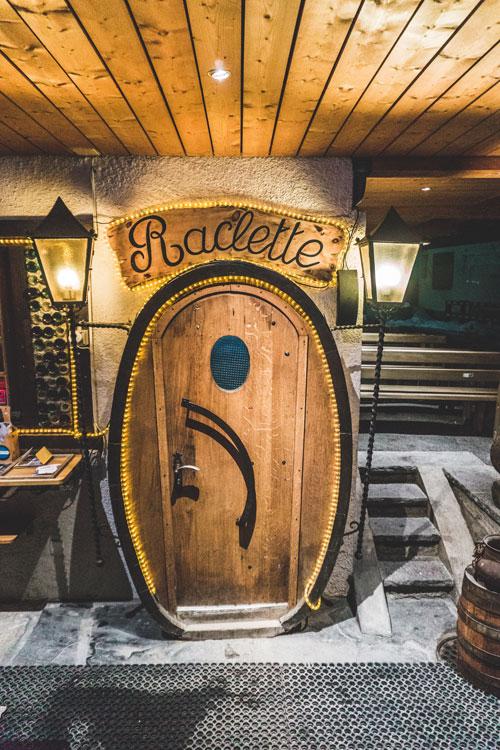 Restaurants in Verbier, Zwitserland