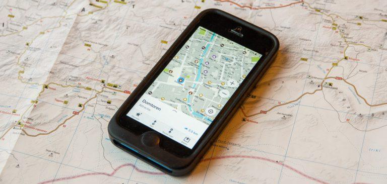 Gratis offline navigatie app Maps.me